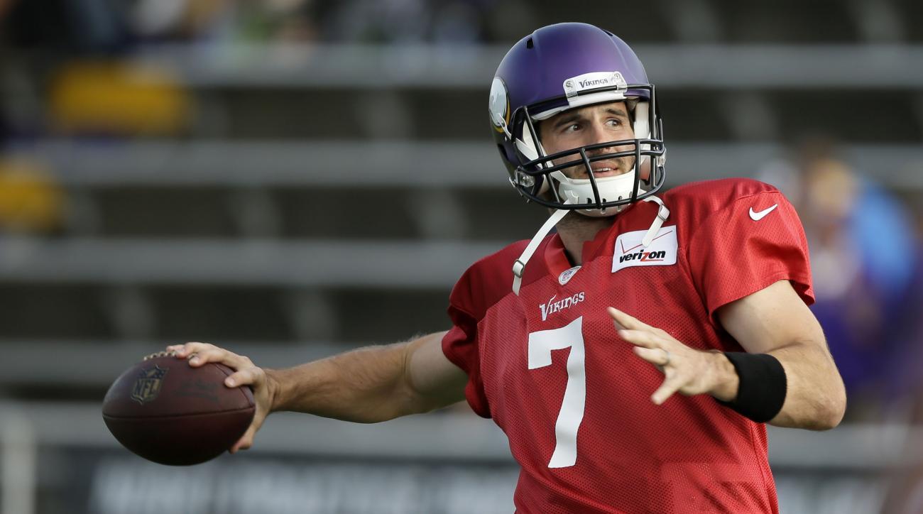 Christian Ponder hears Vikings fans booing him
