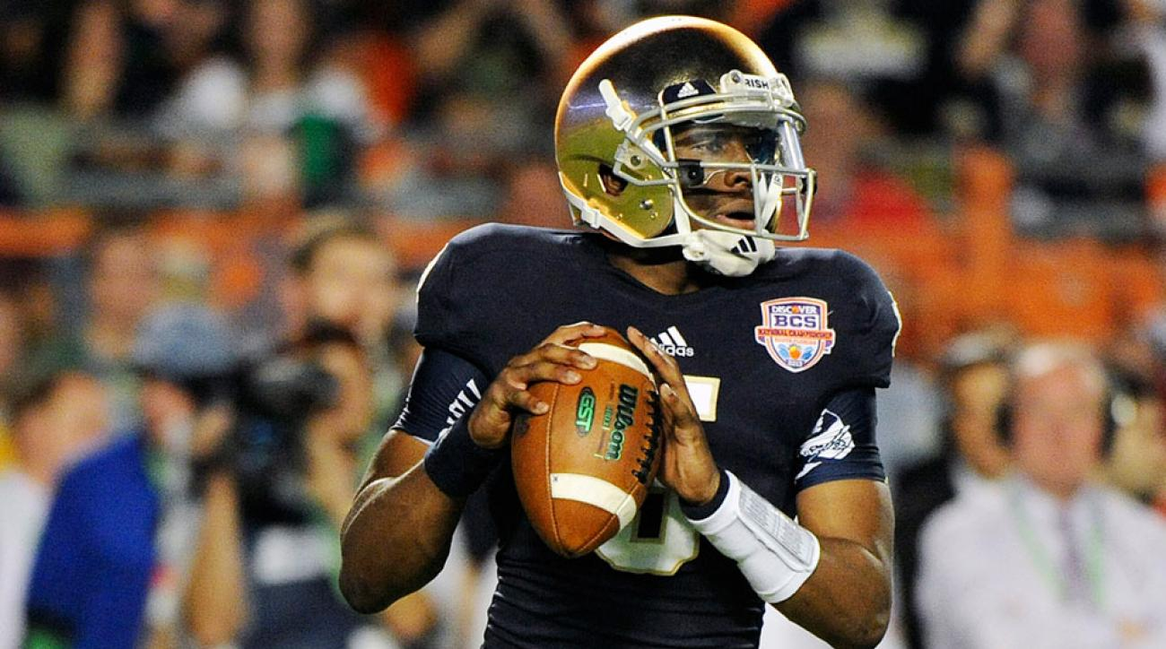 Quarterback Everett Golson returns to the Irish in 2014.