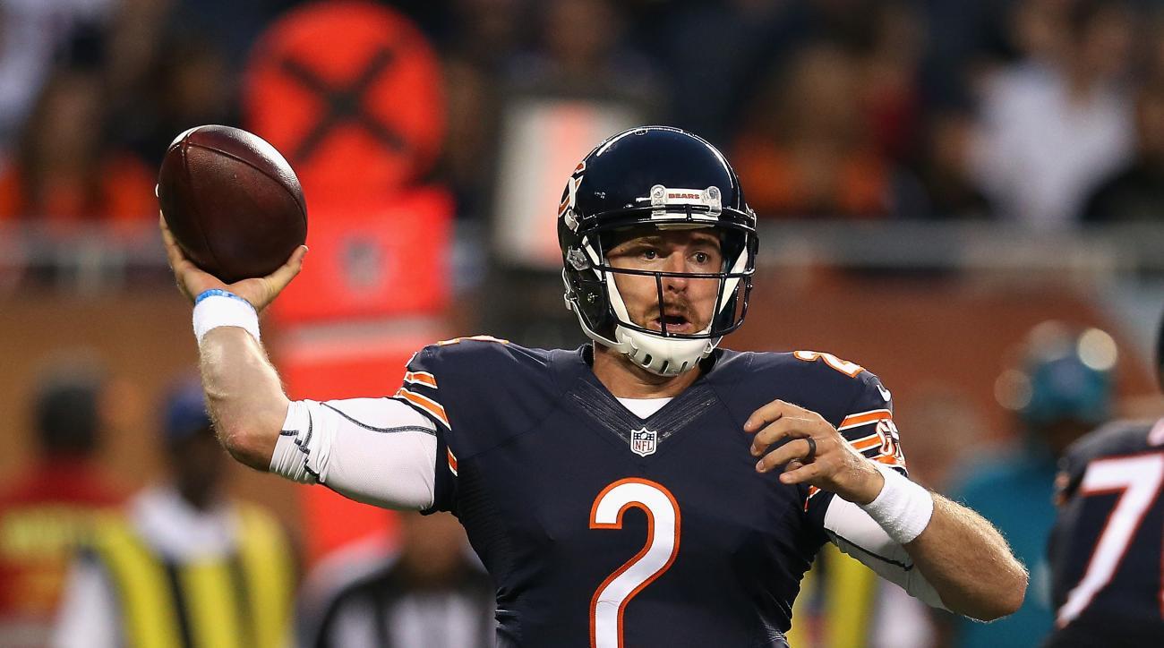 Jordan Palmer Chicago Bears quarterback Jay Cutler Jimmy Clausen