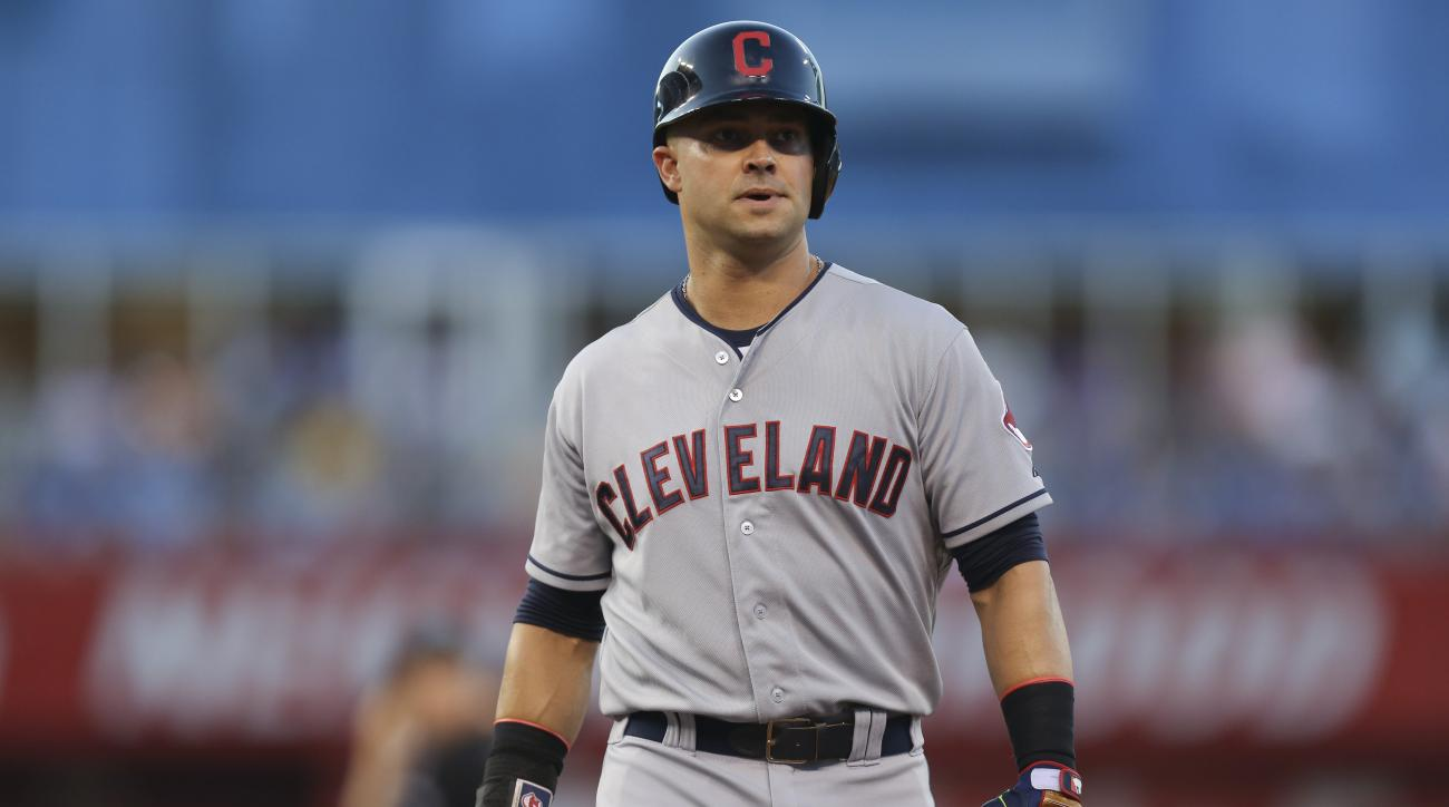 Nick Swisher knee surgery out for the season Cleveland Indians