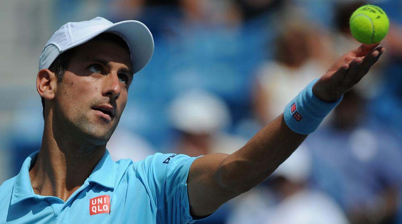 Novak Djokovic is seeded No. 1 in men's singles