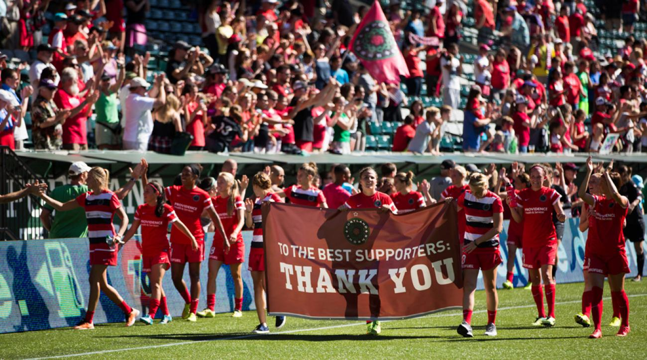 The Portland Thorns have been a staggering success at the ticket office, drawing an average of more than 13,000 fans during NWSL play.
