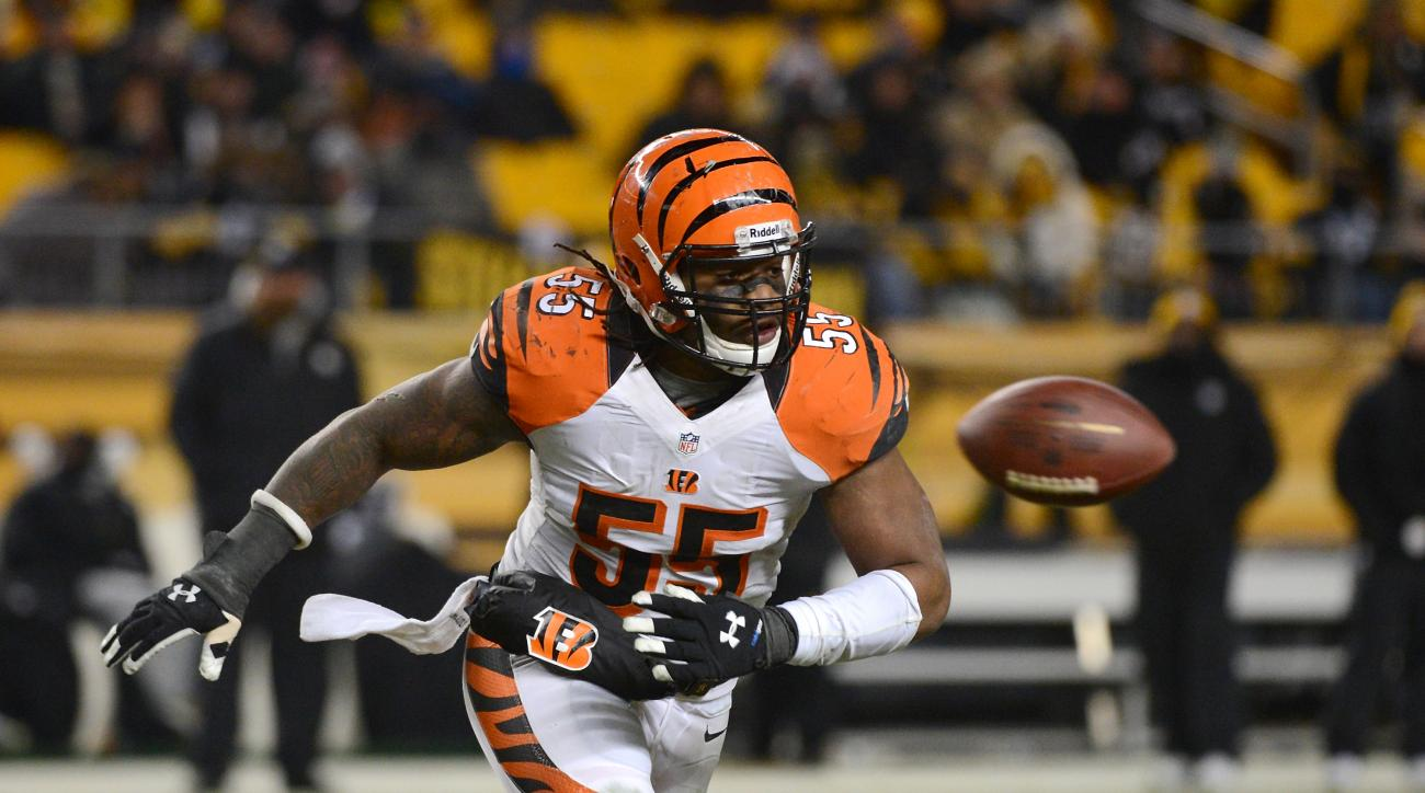 The Cincinnati Bengals signed linebacker Vontaze Burfict to a four-year contract extension.
