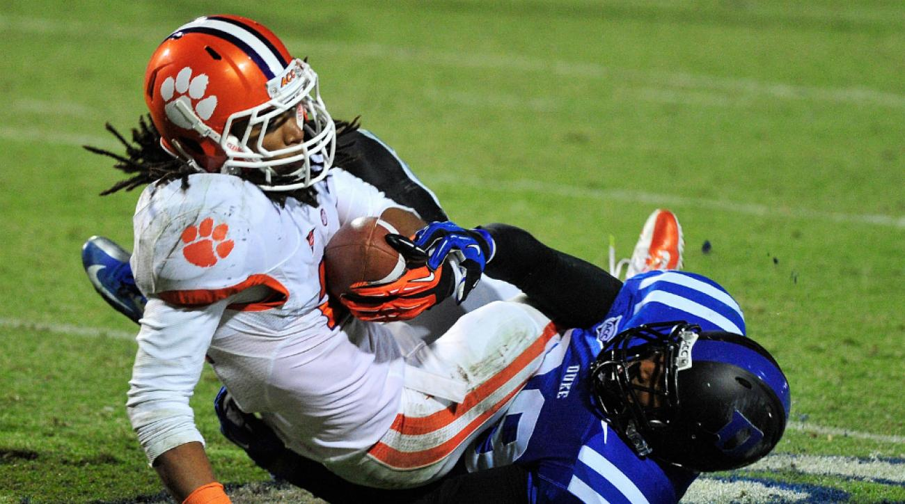 Clemson running back Zac Brooks out for season with injury