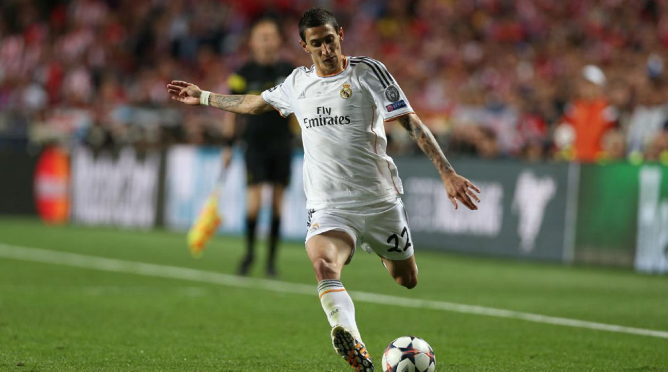 Real Madrid Angel Di Maria