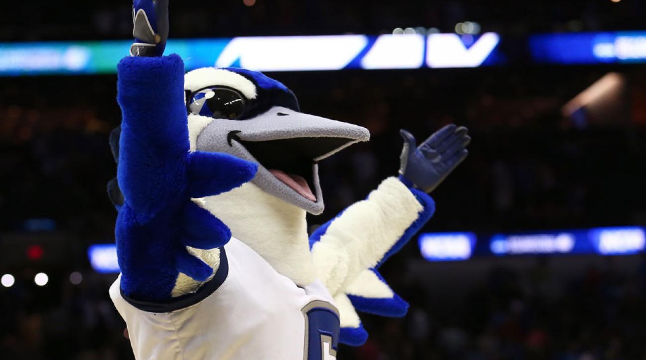 Creighton Bluejay mascot