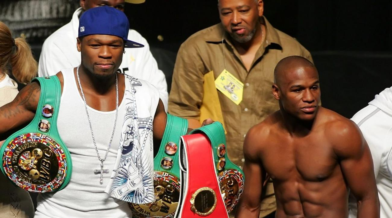 Floyd Mayweather has been challenged to an ice bucket/literacy challenge by 50 cent