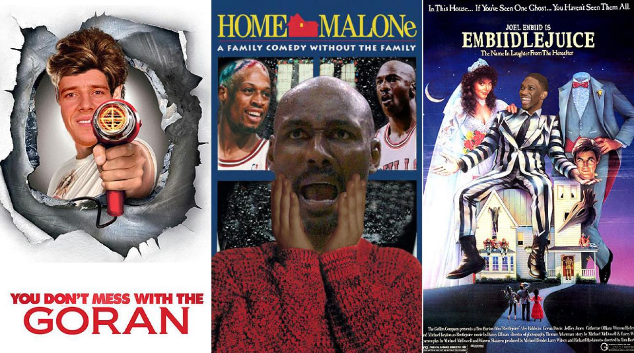 NBA teams created an #NBAMovies hashtag on Twitter that started trending on the popular social networking site.