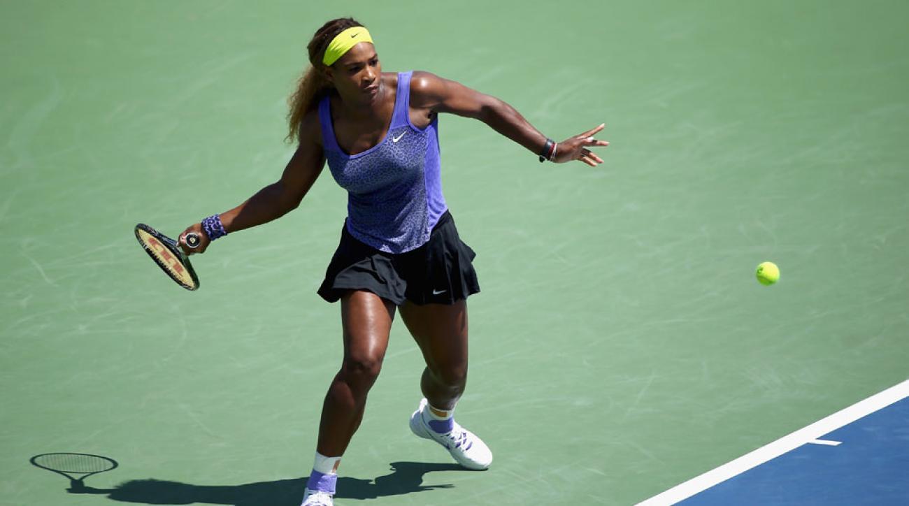 Serena Williams U.S. Open draw
