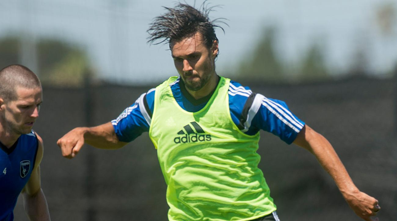 Chris Wondolowski's goal gave the San Jose Earthquakes a 1-1 draw against the Seattle Sounders Wednesday night.