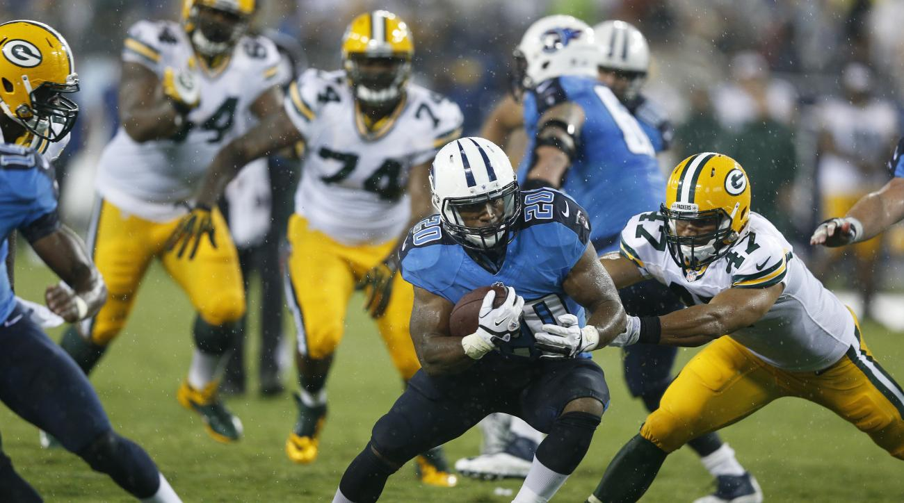 Tennessee Titans rookie running back Bishop Sankey addressed his recent fumble issues.