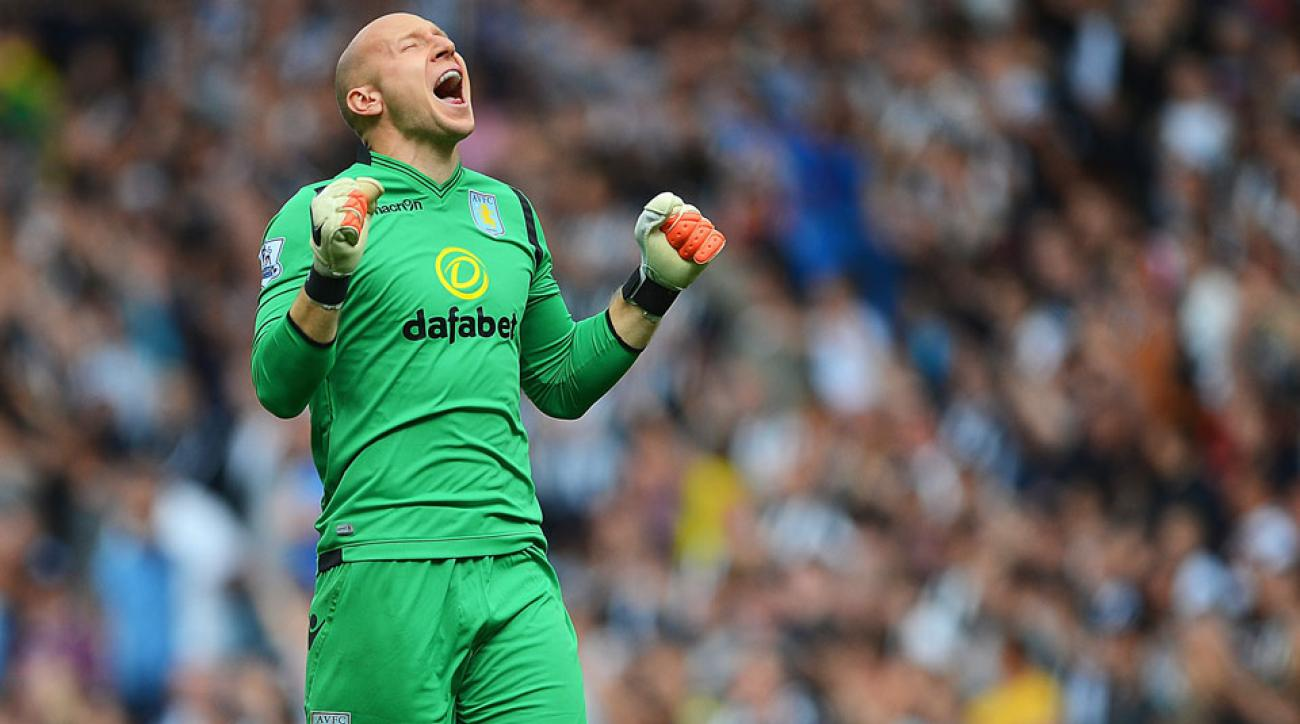 Brad Guzan earned his second straight shutout to start the season as Aston Villa fought to a dull scoreless draw with Newcastle on Saturday.