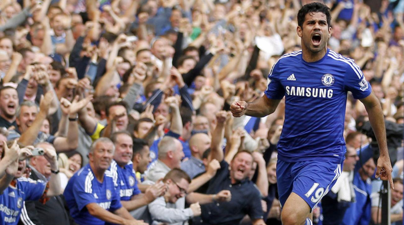 Diego Costa scored his second goal in as many EPL games as Chelsea defeated Leicester City at Stamford Bridge.