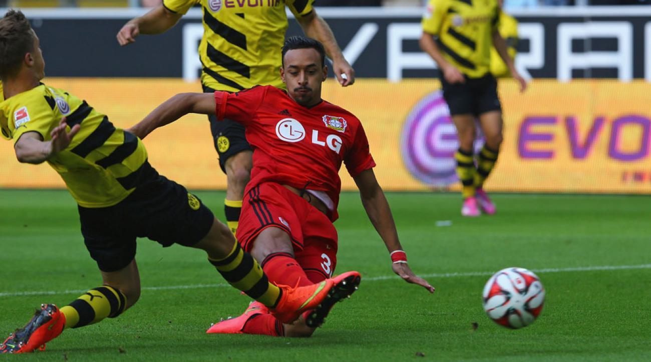 Karim Bellarabi scored the fastest goal in Bundesliga history after just seven seconds for Bayer Leverkusen against Borussia Dortmund