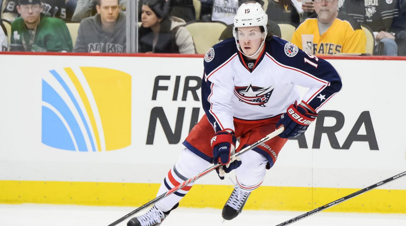 Ryan Johansen and the Columbus Blue Jackets are still negotiating a new contract for the young center.