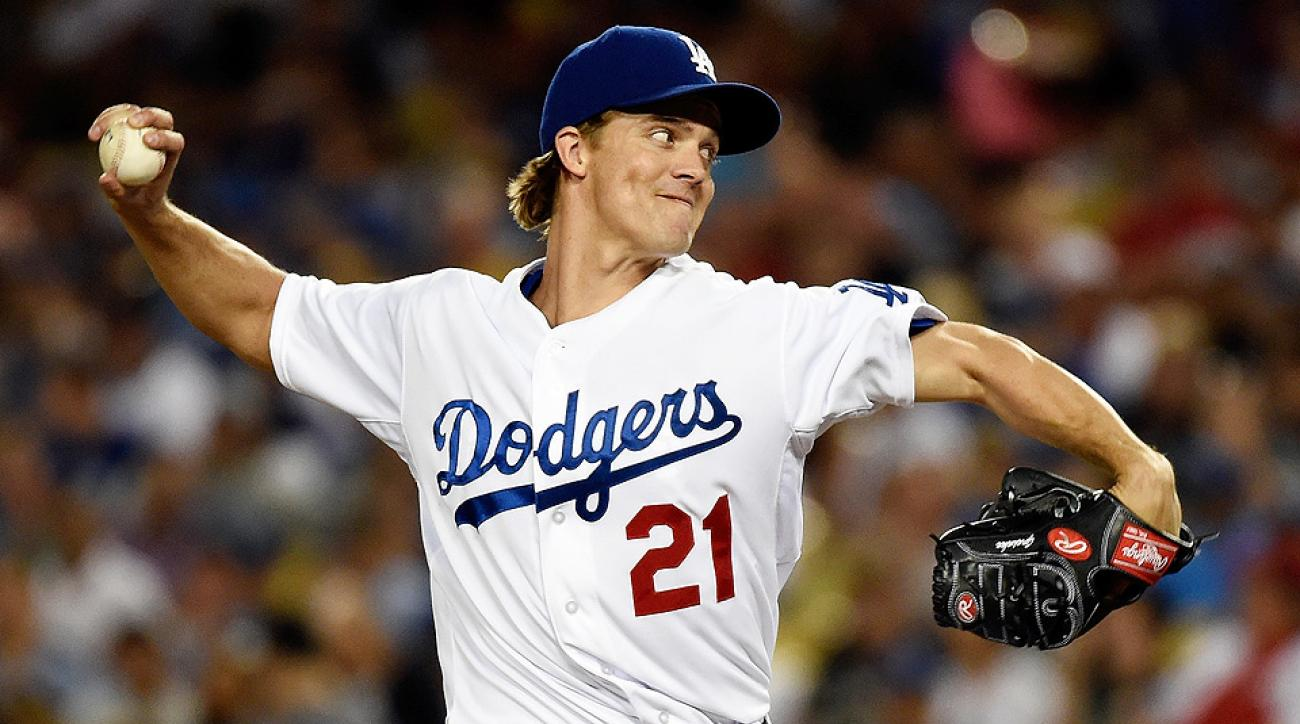 Los Angeles Dodgers right-hander Zack Greinke is a smart fantasy option today when he faces the New York Mets.