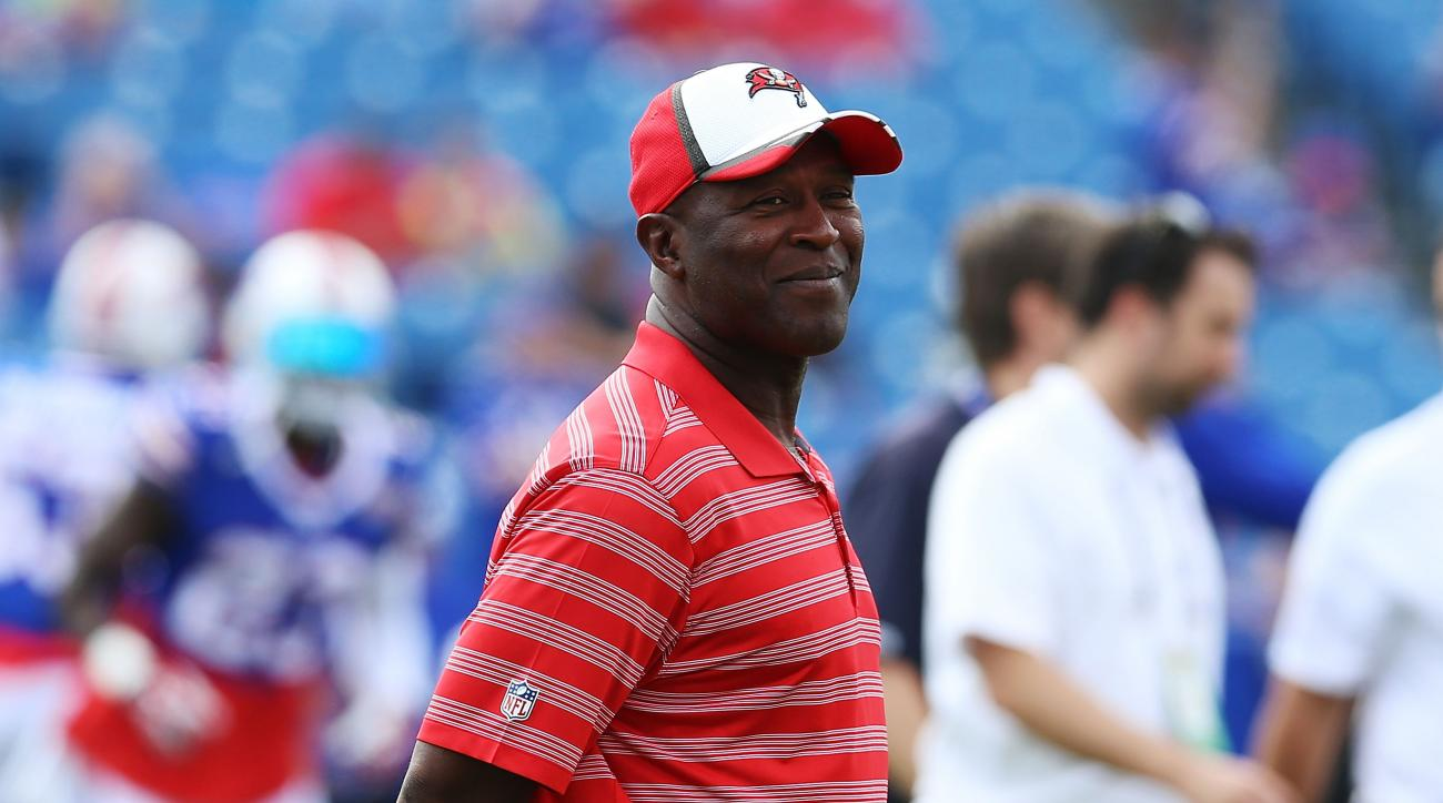 Bucs head coach Lovie Smith (pictured) said he believes that no one deserves a death sentence.