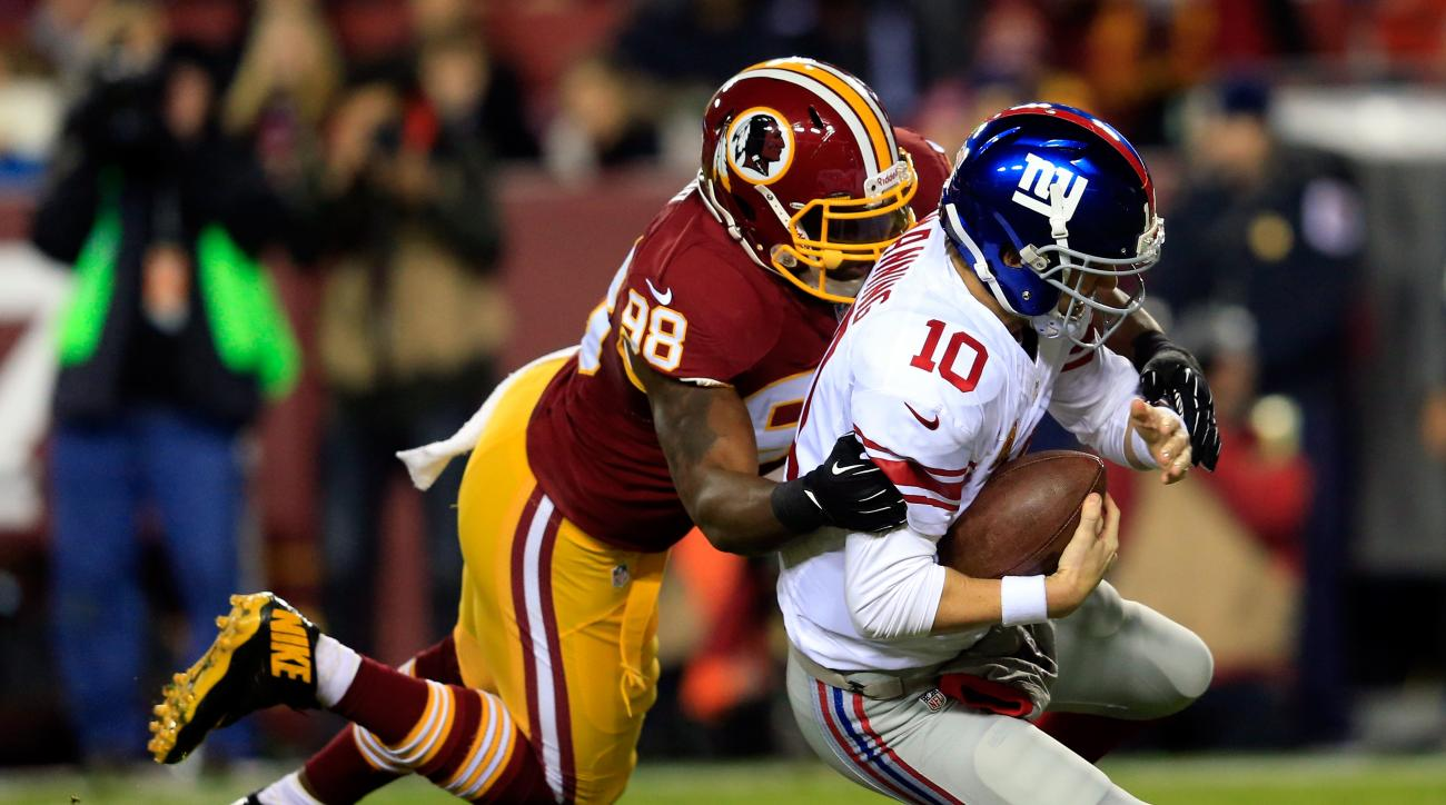 Washington outside linebacker Brian Orakpo will miss the team's final preseason game with an ankle injury.