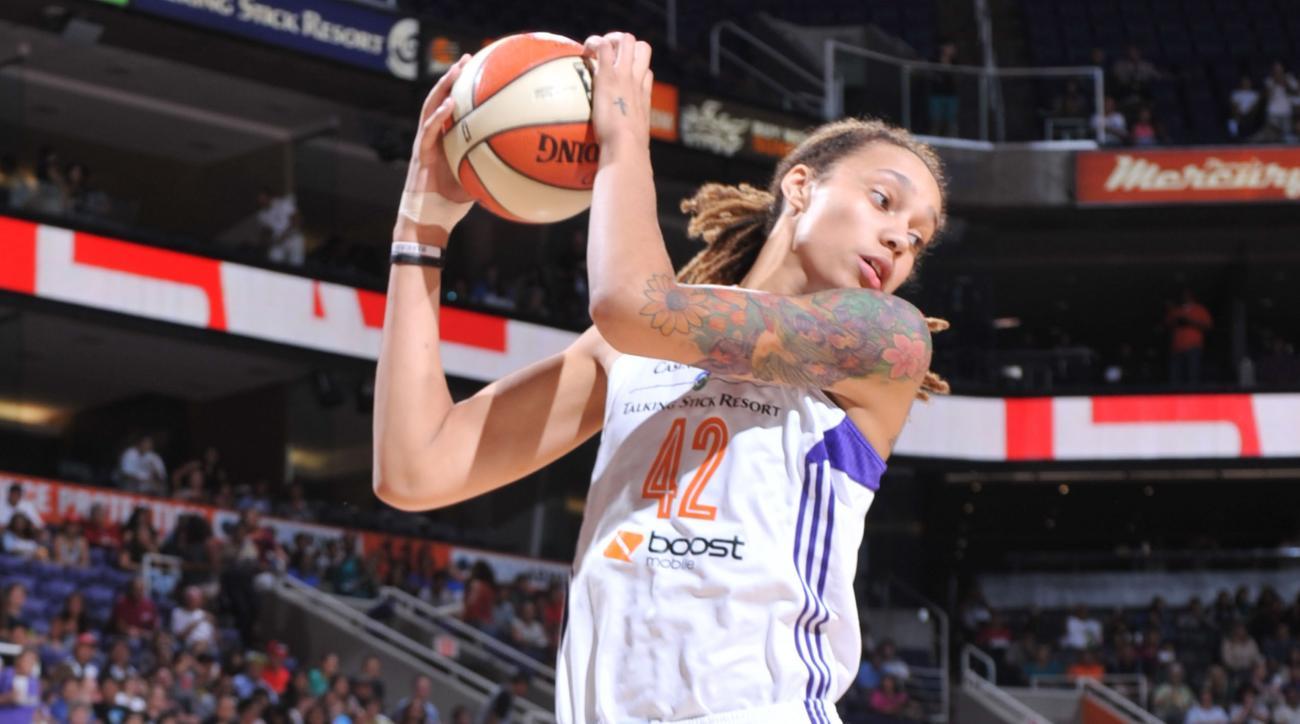 Brittney Griner dunk WNBA playoffs
