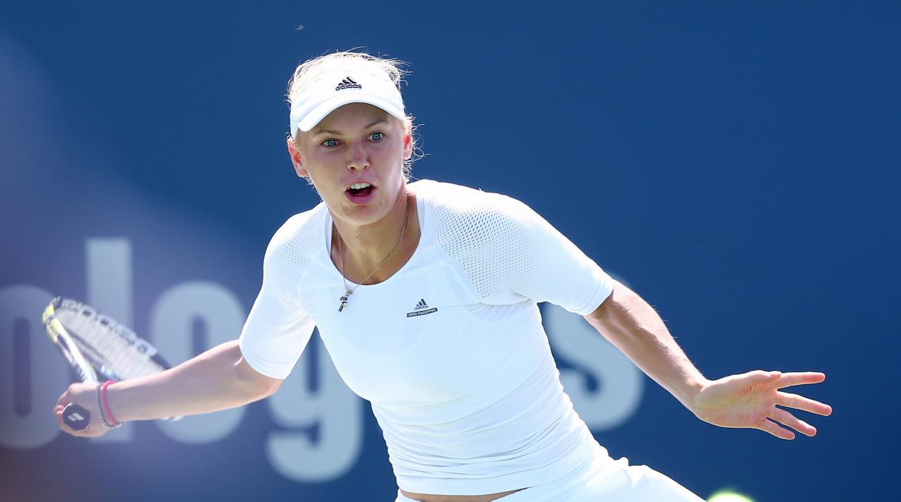 Caroline Wozniacki US Open 2014