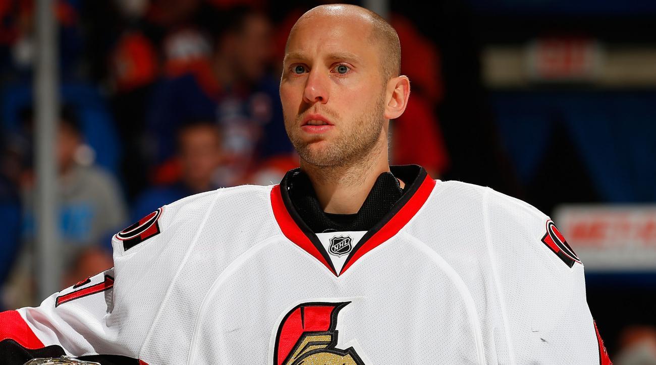 Craig Anderson Senators contract