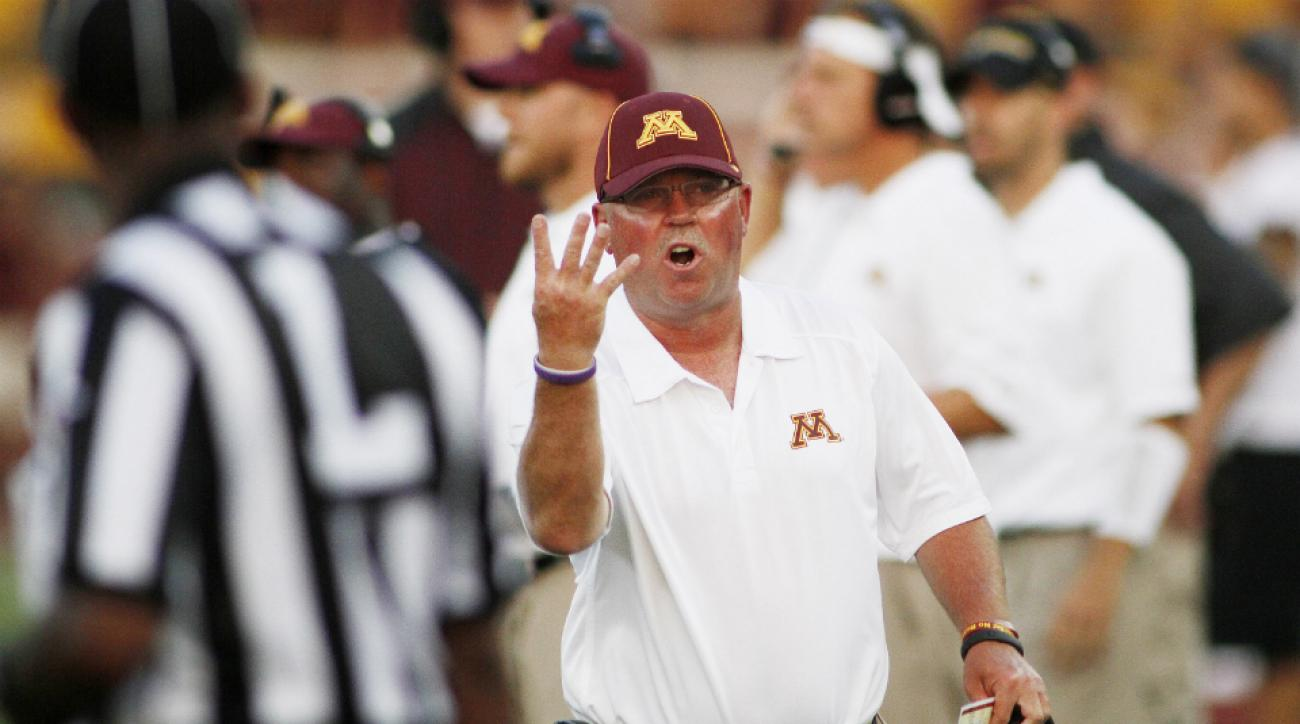 Minnesota Golden Gophers coach Jerry Kill