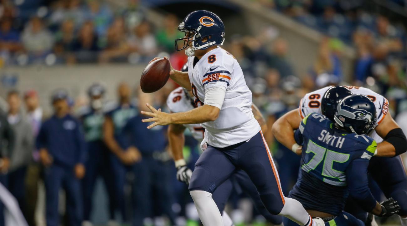 Jimmy Clausen wins Bears backup quarterback job