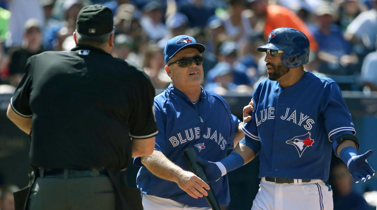 Blue Jays Jose Bautista ejected
