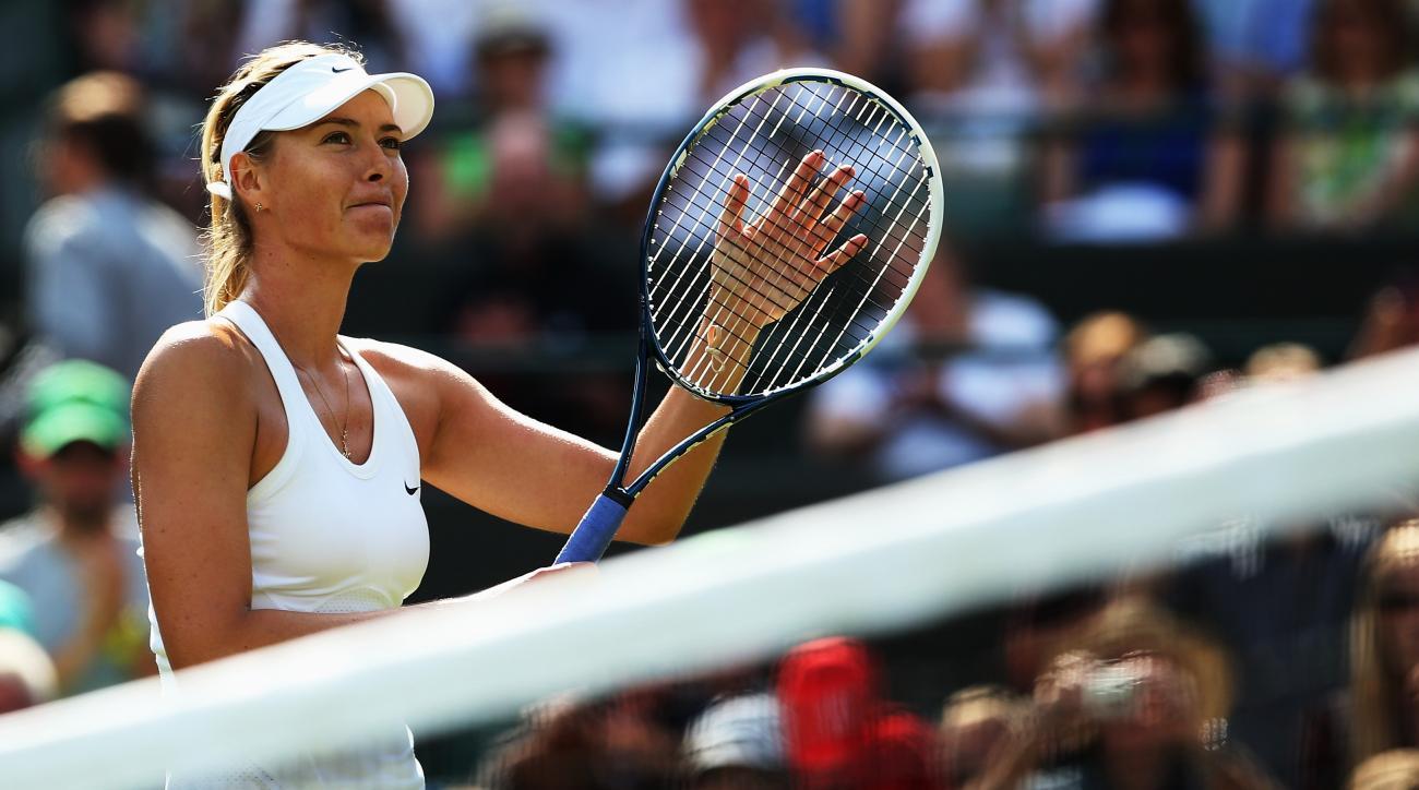 Maria Sharapova US Open 2014 tennis