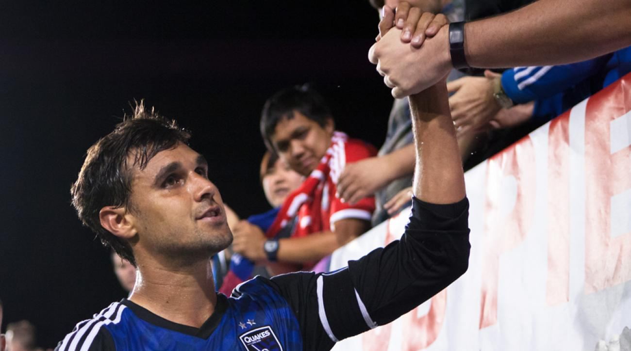Chris Wondolowski's goal in a loss against the Philadelphia Union Sunday night put him in rare MLS company.