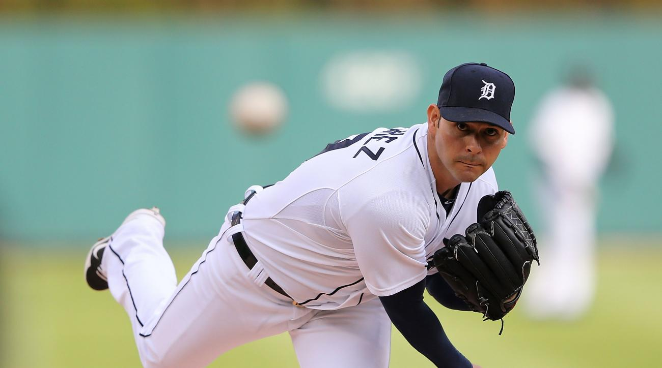 Detroit Tigers starting pitcher Anibal Sanchez is worried he may be done for the season.