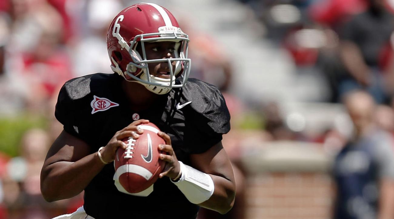 Blake Sims is reportedly the favorite to start Alabama's opener