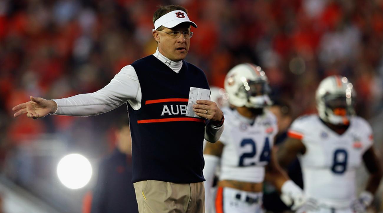 Gus Malzahn Auburn coach