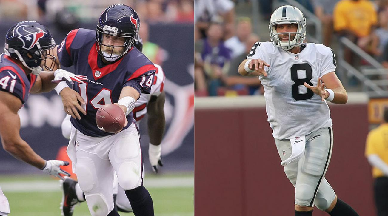 Sam Bradford, Robert Griffin III, Matt Schaub at center of NFL's most concerning quarterback situations