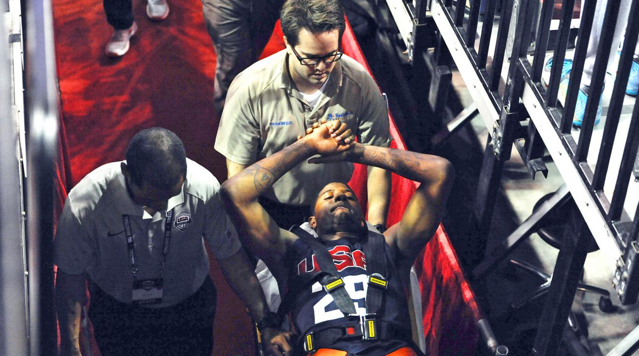 The NBA is adopting new rules to give players more space along the baselines less than a month after Pacers forward Paul George broke his leg crashing into a basket stanchion.