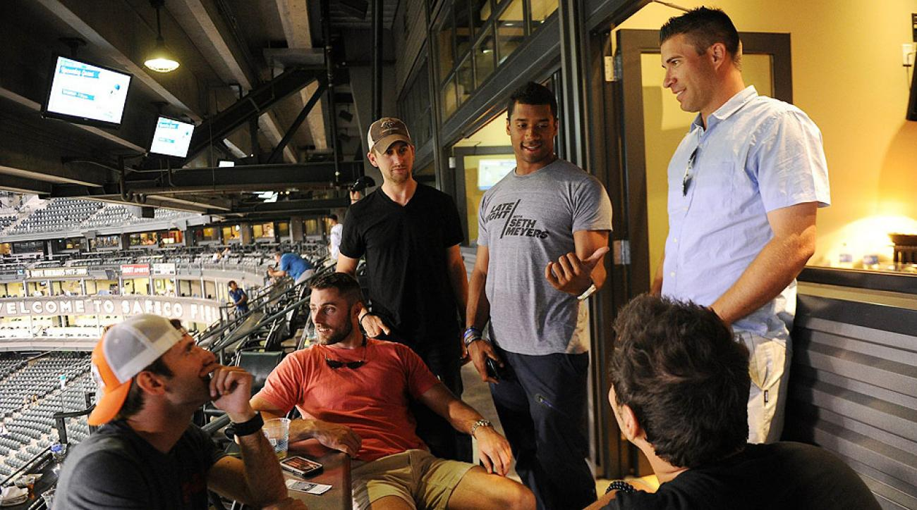 Russell Wilson keeps tight circle in wake of Seattle Seahawks' Super Bowl
