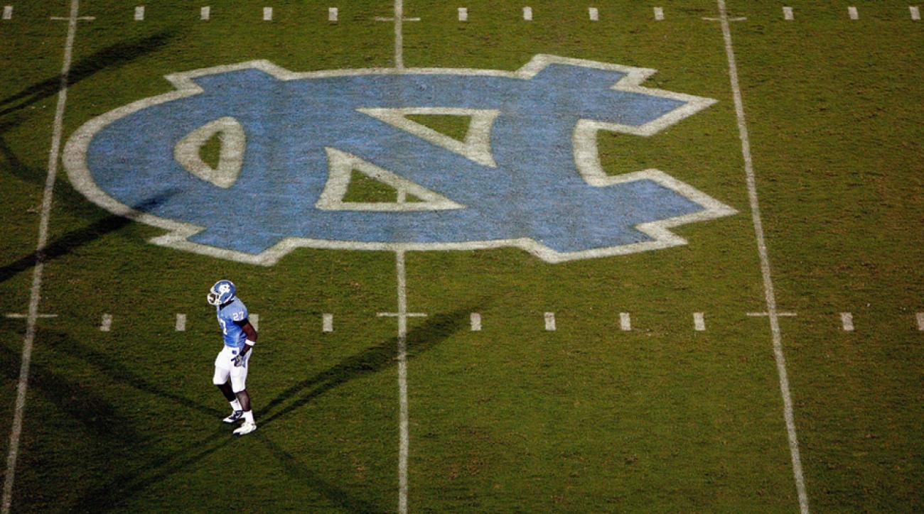 North Carolina football field