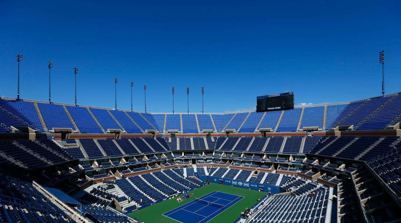 US Open 2014 Arthur Ashe Stadium TV schedule tournament
