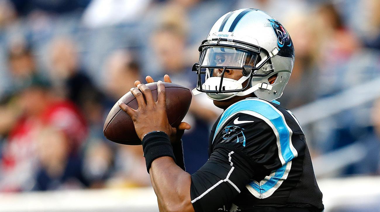 Cam Newton Carolina Panthers Week 1 injury