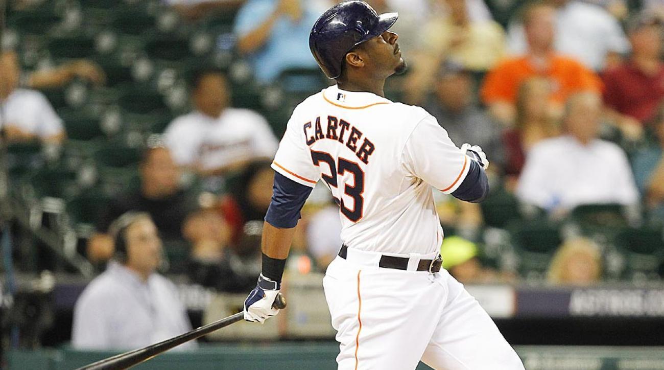 Chris Carter Houston Astros