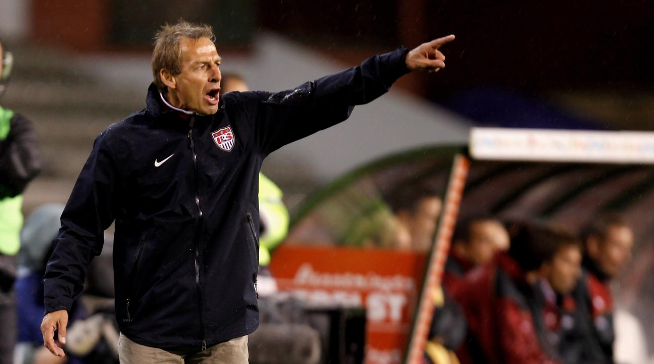 jurgen klinsmann usmnt roster czech republic friendly