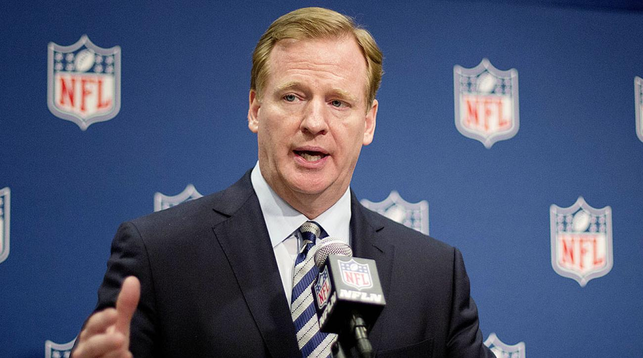 Roger Goodell announces revamped domestic abuse policy