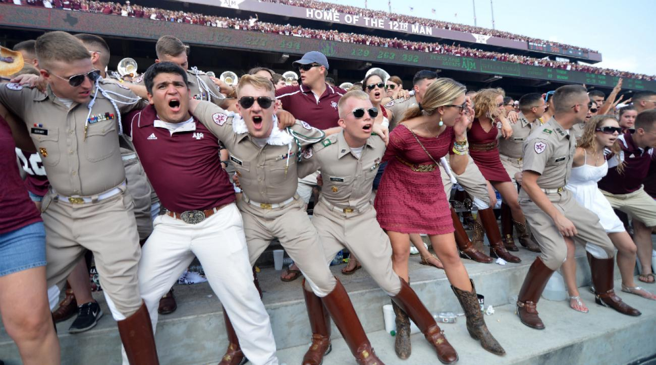 Student attendance down at college football games
