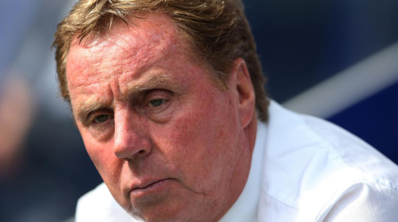 QPR coach Harry Redknapp