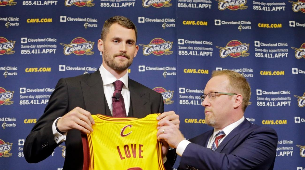 Cavaliers GM not worried about Kevin Love's defense