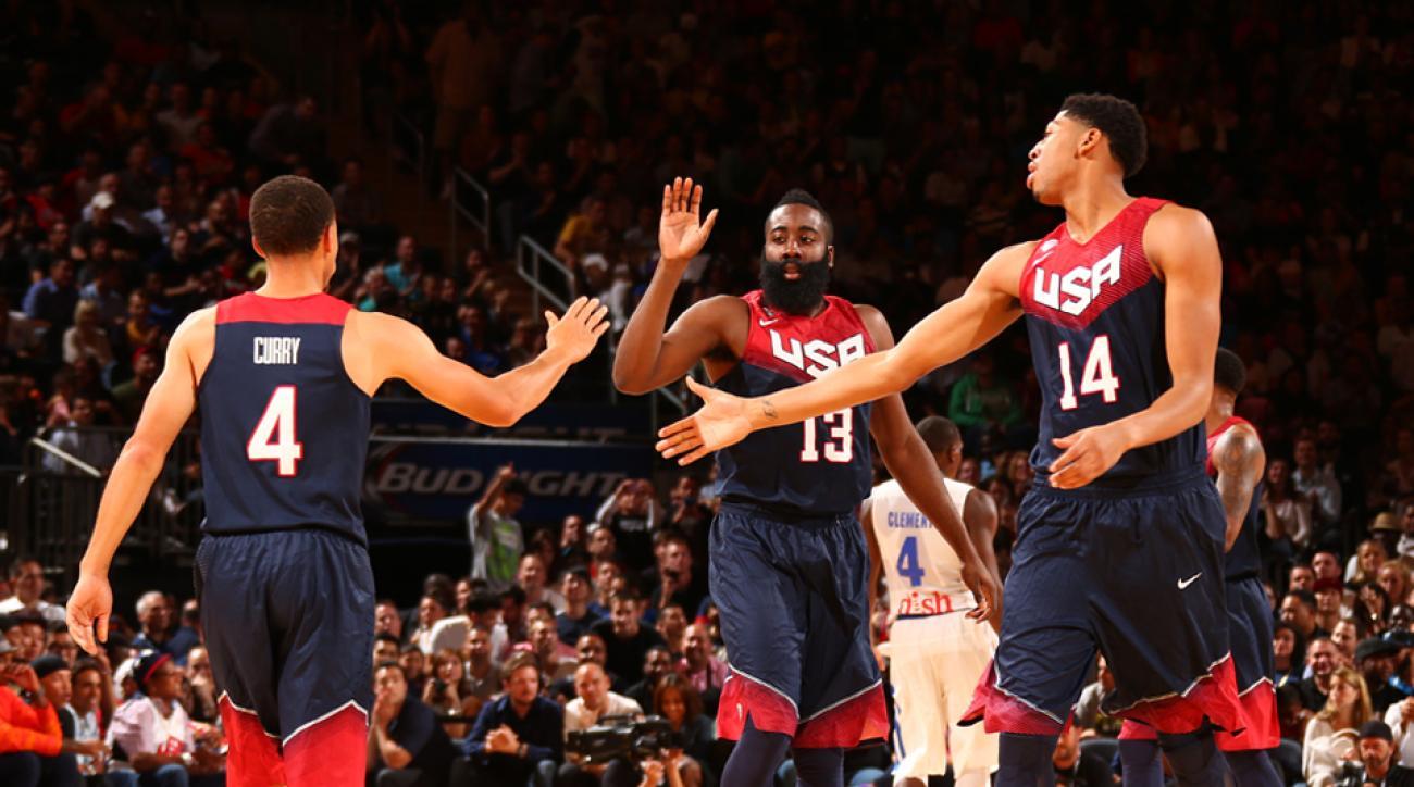 Team USA basketball roster
