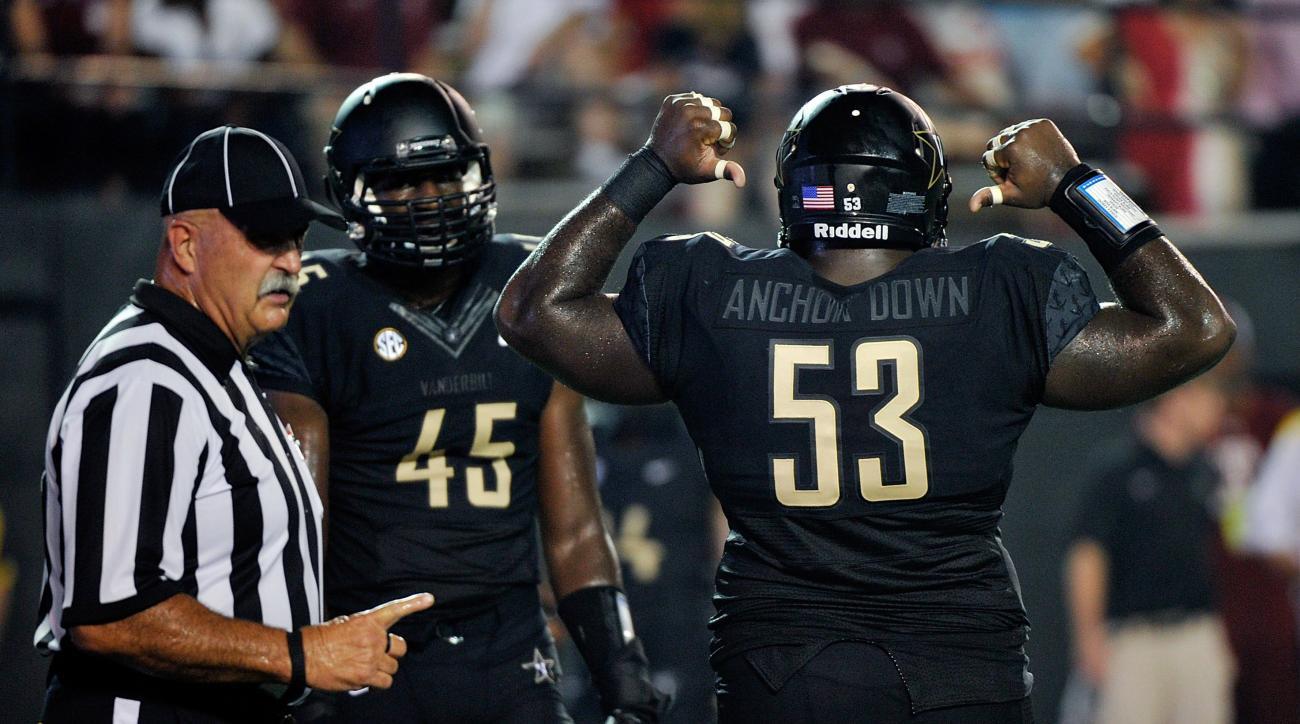 Vanderbilt Anchor Down jerseys illegal sec statement