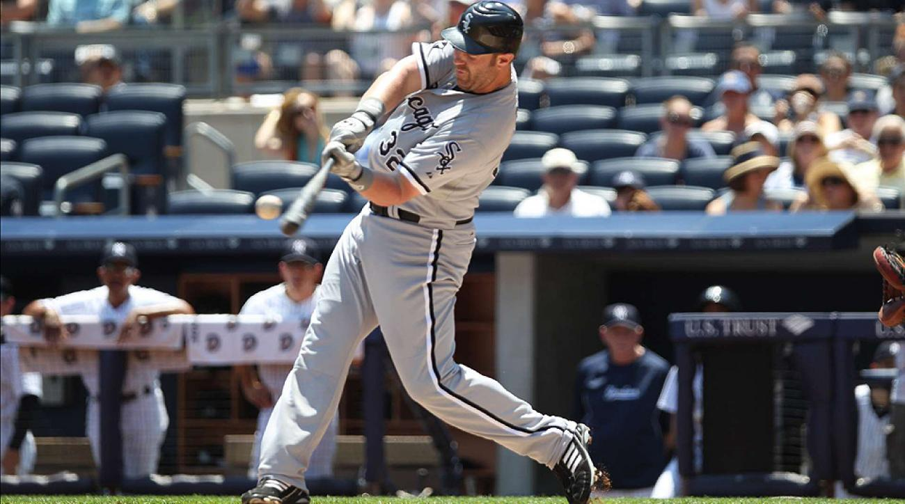 The Giants and A's are interested in acquiring White Sox slugger Adam Dunn.