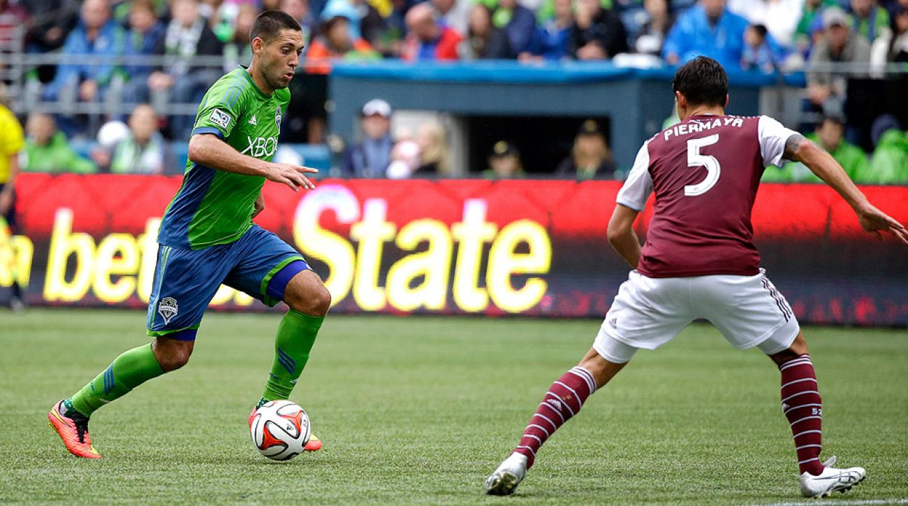 The Sounders defeated the Rapids 1-0 on Clint Dempsey's goal off a corner kick in the 52th minute.