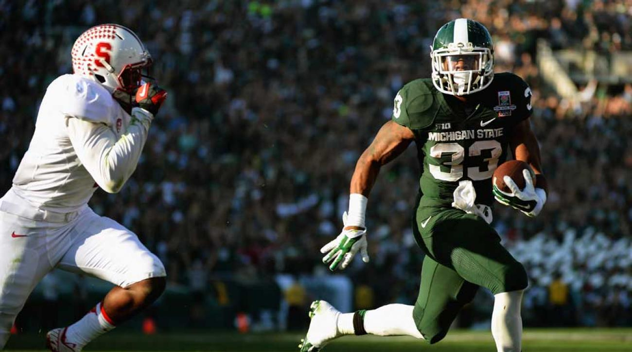 Michigan State star running back Jeremy Langford